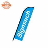 Replacement Flat 10FT feather banner