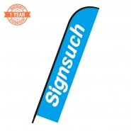 Replacement Flat 14FT feather banner