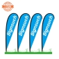 4KITS Custom 10FT Teardrop Flags