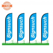 4KITS Custom 10FT Feather Flags