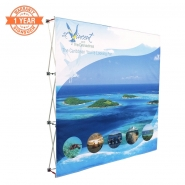 8FT Straight Pop up display kits