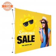 10FT Straight Pop up display kits