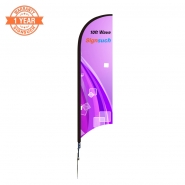 Wave 10FT  Feather Flags Kits