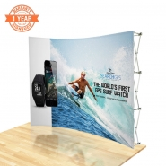 10FT Curve Pop up display kits